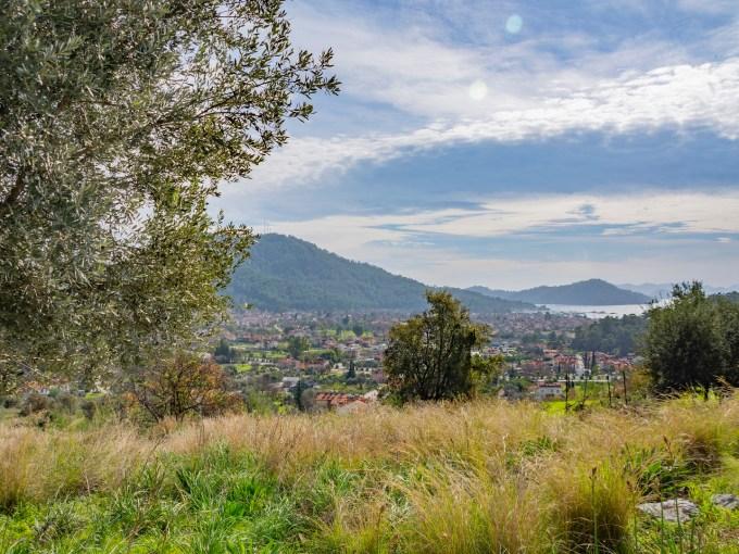 Sea View land for sale in Göcek Turkey