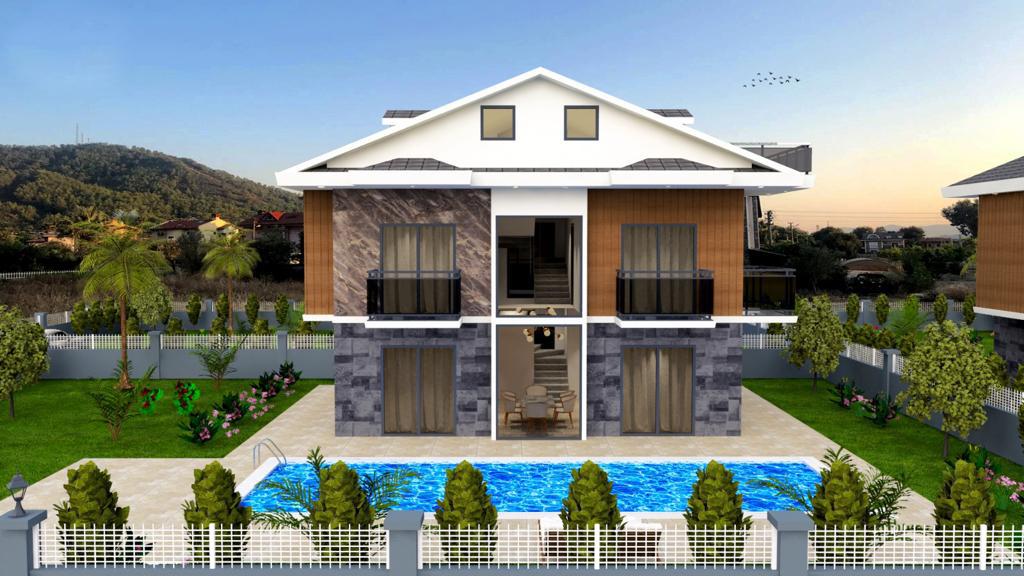 Newly Built property for sale in Fethiye Göcek.