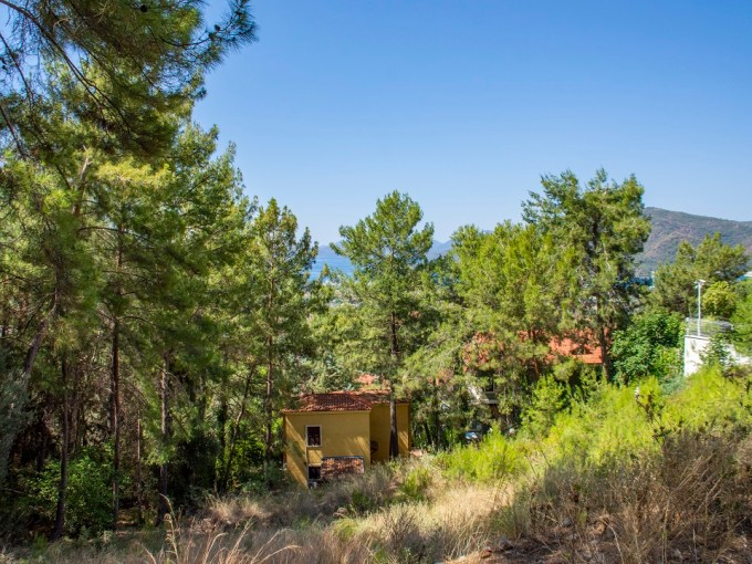 Land For Sale in Göcek with SeaView in Forest